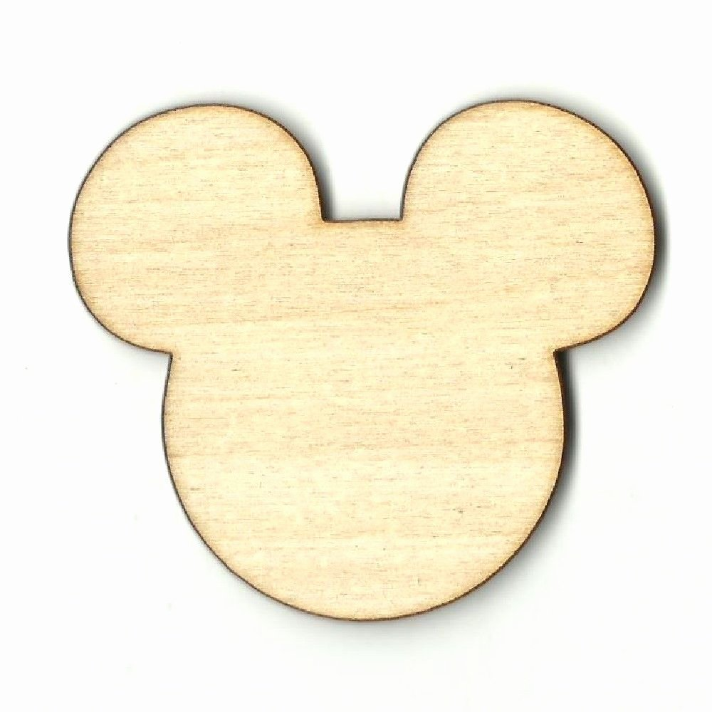 Mouse Cut Out Awesome Mickey Mouse Disney Unfinished Wood Shapes Craft Supply