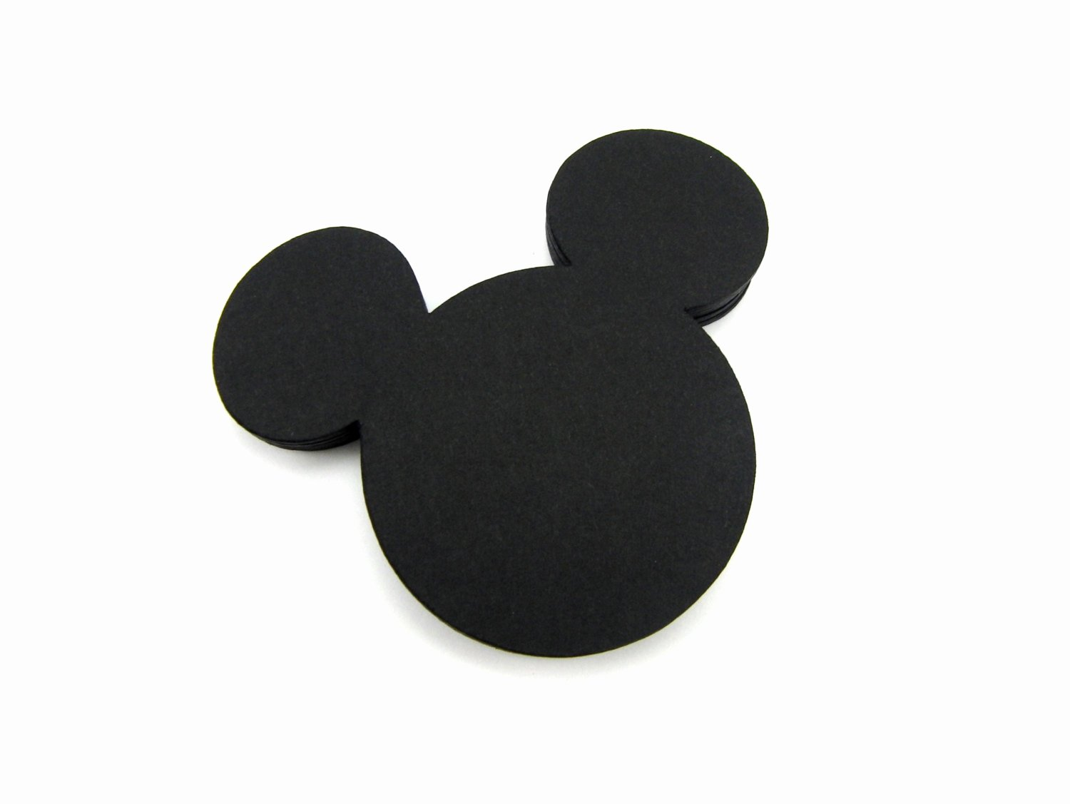 Mouse Cut Out Elegant Mickey Mouse Paper Cut Outs Set Of 25