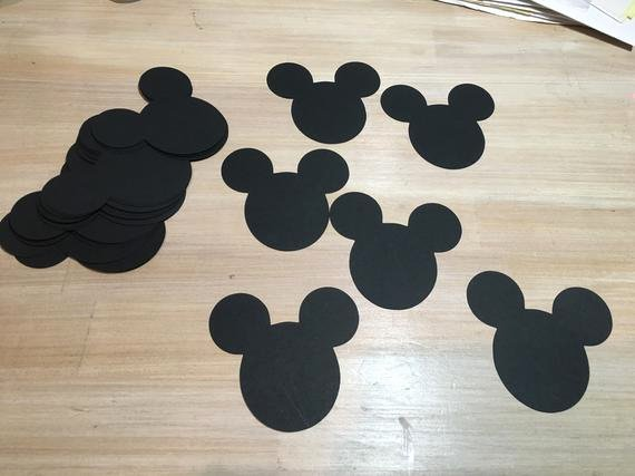 Mouse Cut Out Fresh Mickey Mouse Cut Outs 3 Inches Set Of 20