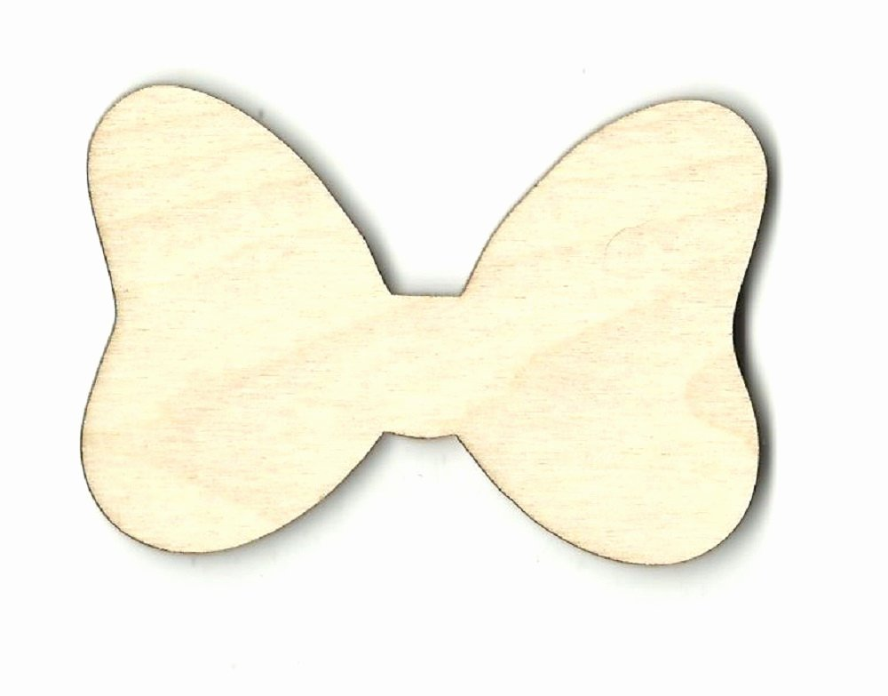 Mouse Cut Out Fresh Minnie Mouse Bow Laser Cut Out Unfinished Wood Shape Craft
