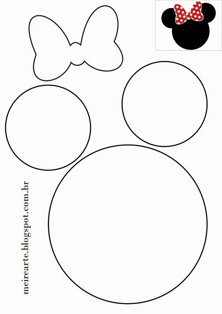Mouse Cut Out Template Best Of Best 25 Minnie Mouse Template Ideas On Pinterest