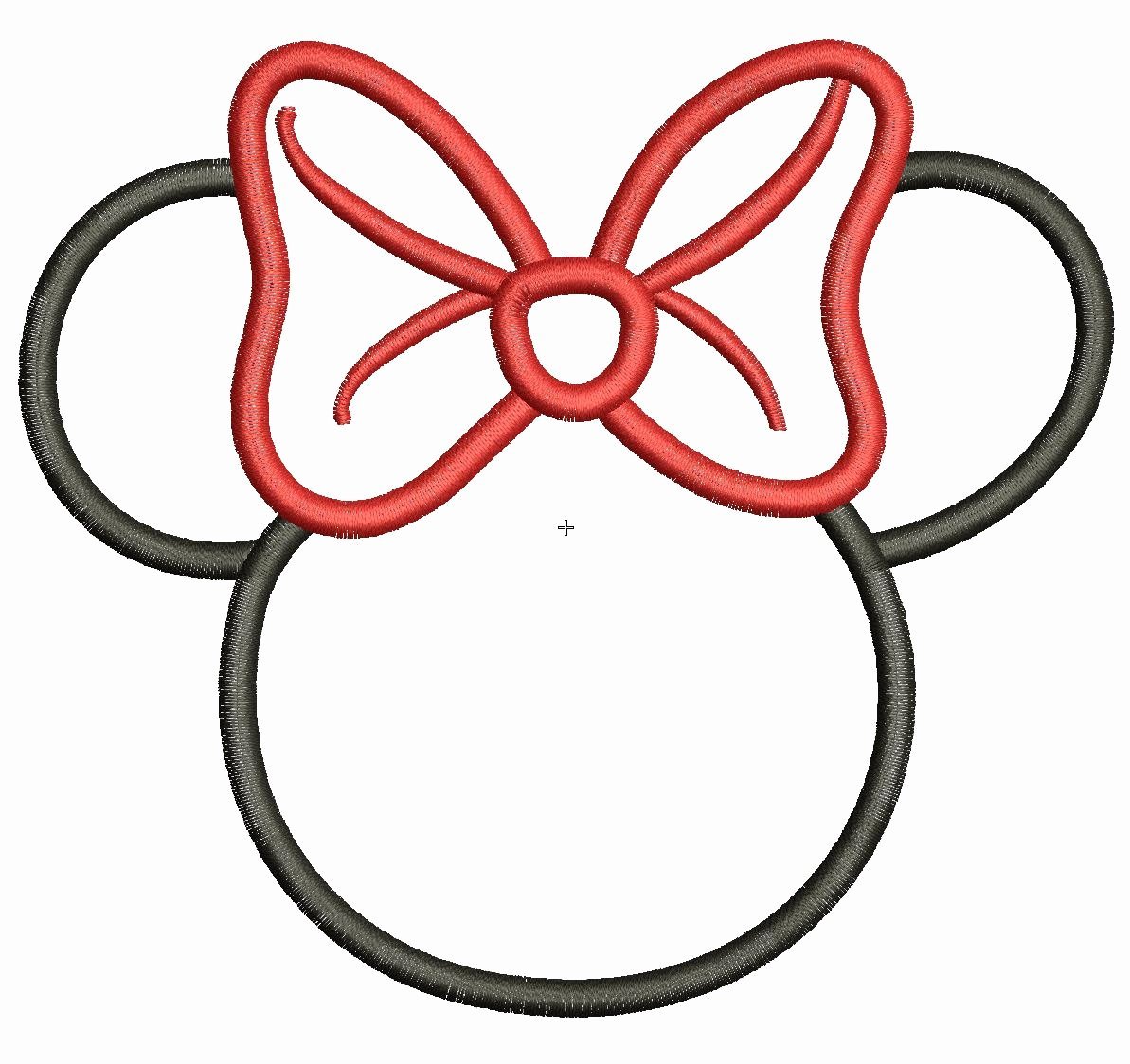 Mouse Cut Out Template Best Of Minnie Mouse Template