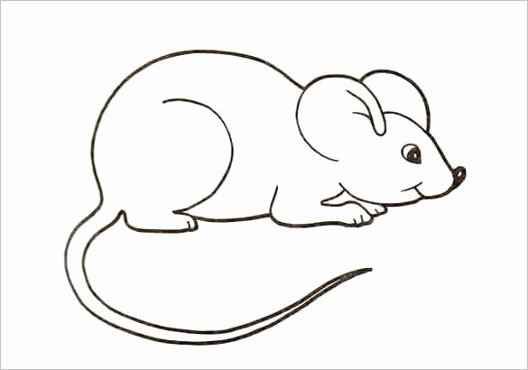 Mouse Cut Out Template Elegant 14 Mouse Templates Crafts & Colouring Pages Pdf Jpg