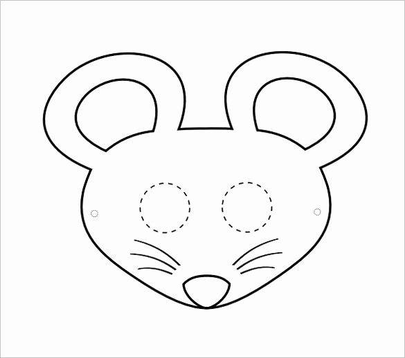 Mouse Cut Out Template Inspirational 14 Mouse Templates Crafts & Colouring Pages Pdf Jpg