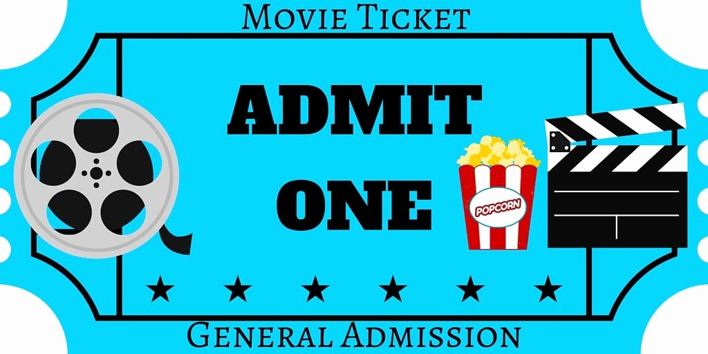 Movie Ticket Invitation Template Free Best Of Free Printables Movie