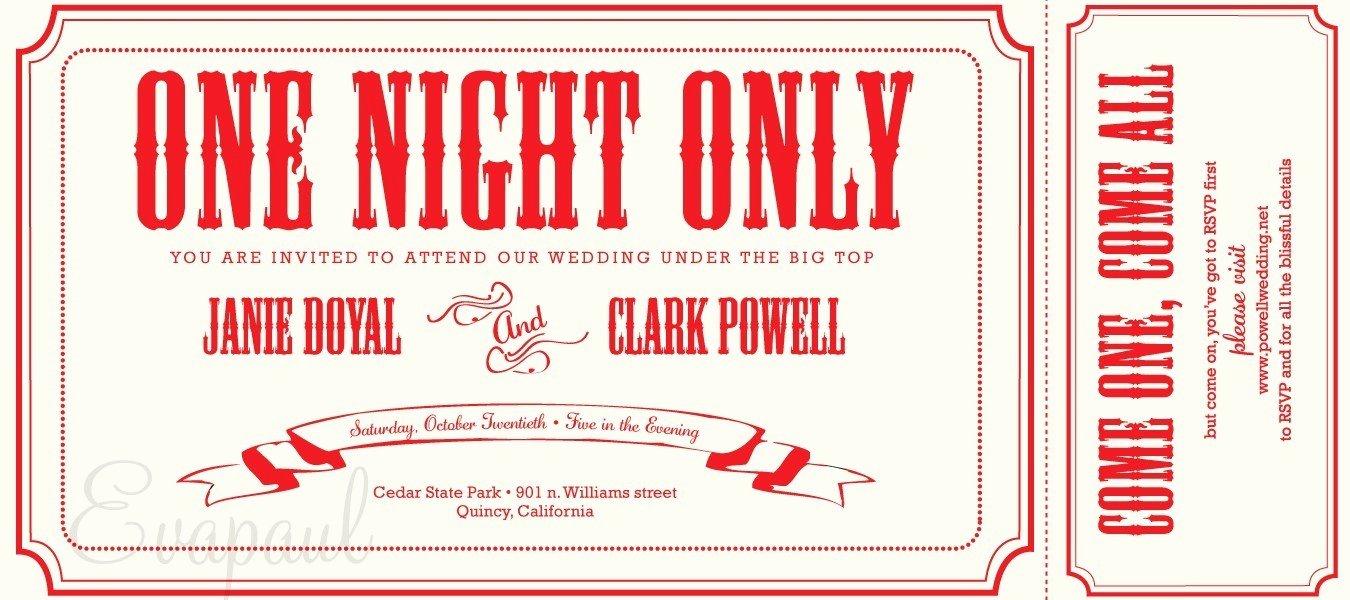 Movie Ticket Invitation Template Free Elegant Free Printable Ticket Stub Invitation – orderecigsjuicefo