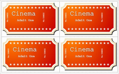 Movie Ticket Template Word Beautiful 36 Printable Movie Ticket Templates Free Psd Pdf Excel