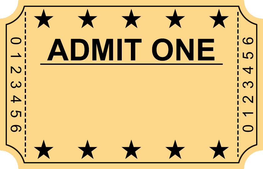 Movie Ticket Template Word Best Of Movie Ticket Template