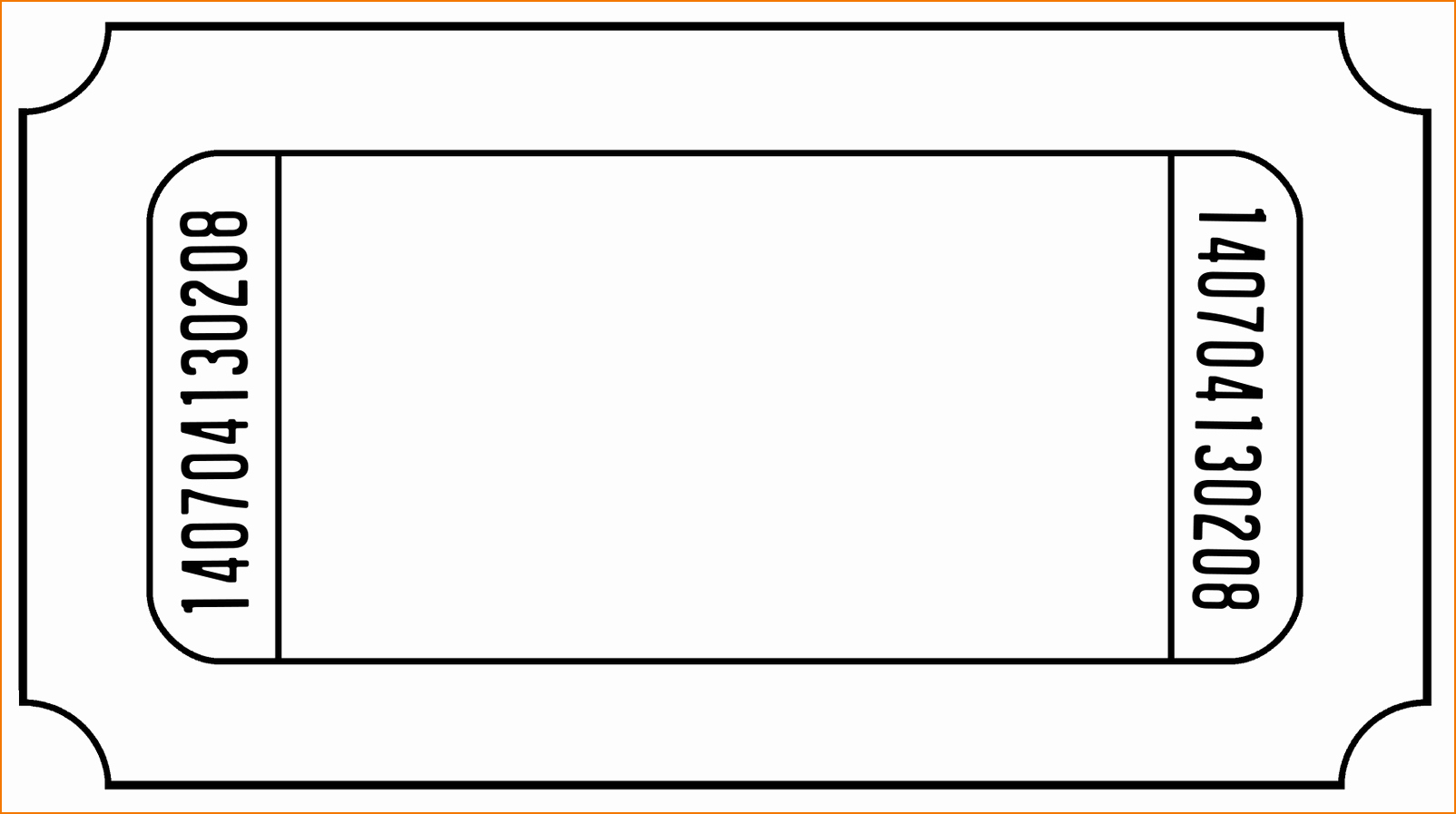 Movie Ticket Template Word New 6 Ticket Templates
