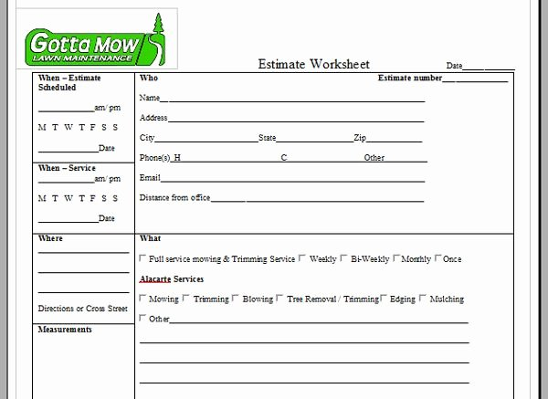 Mowing Schedule Template Lovely Lawn Care Service Quote Template Image Quotes at Relatably