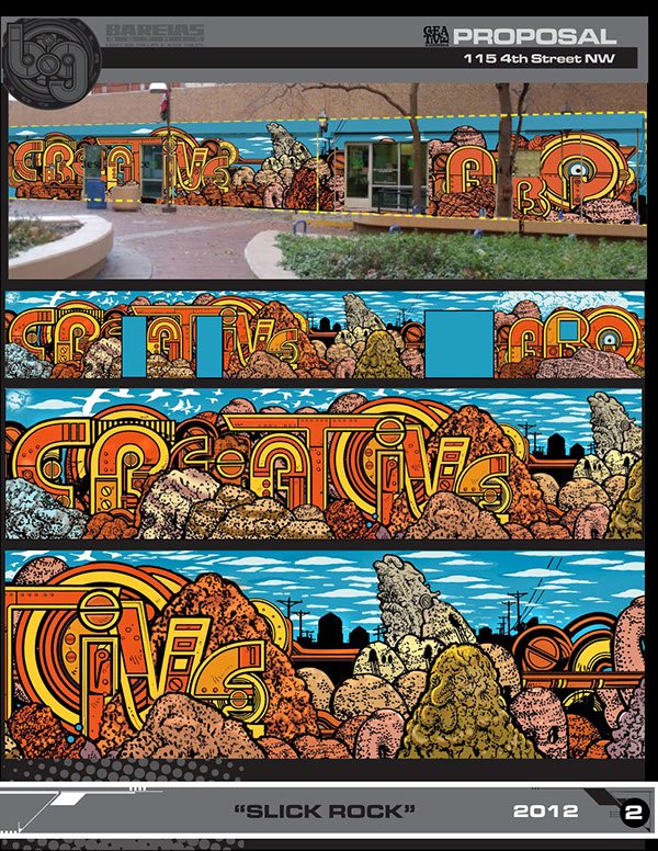 Mural Proposal Examples Best Of Creative Abq Mural Proposal On Behance