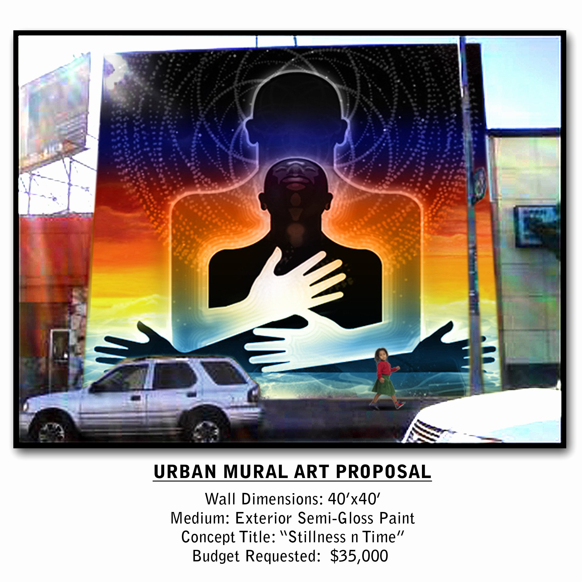 Mural Proposal Examples New Stillness N Time Mural Proposal Wiggins Art & Design