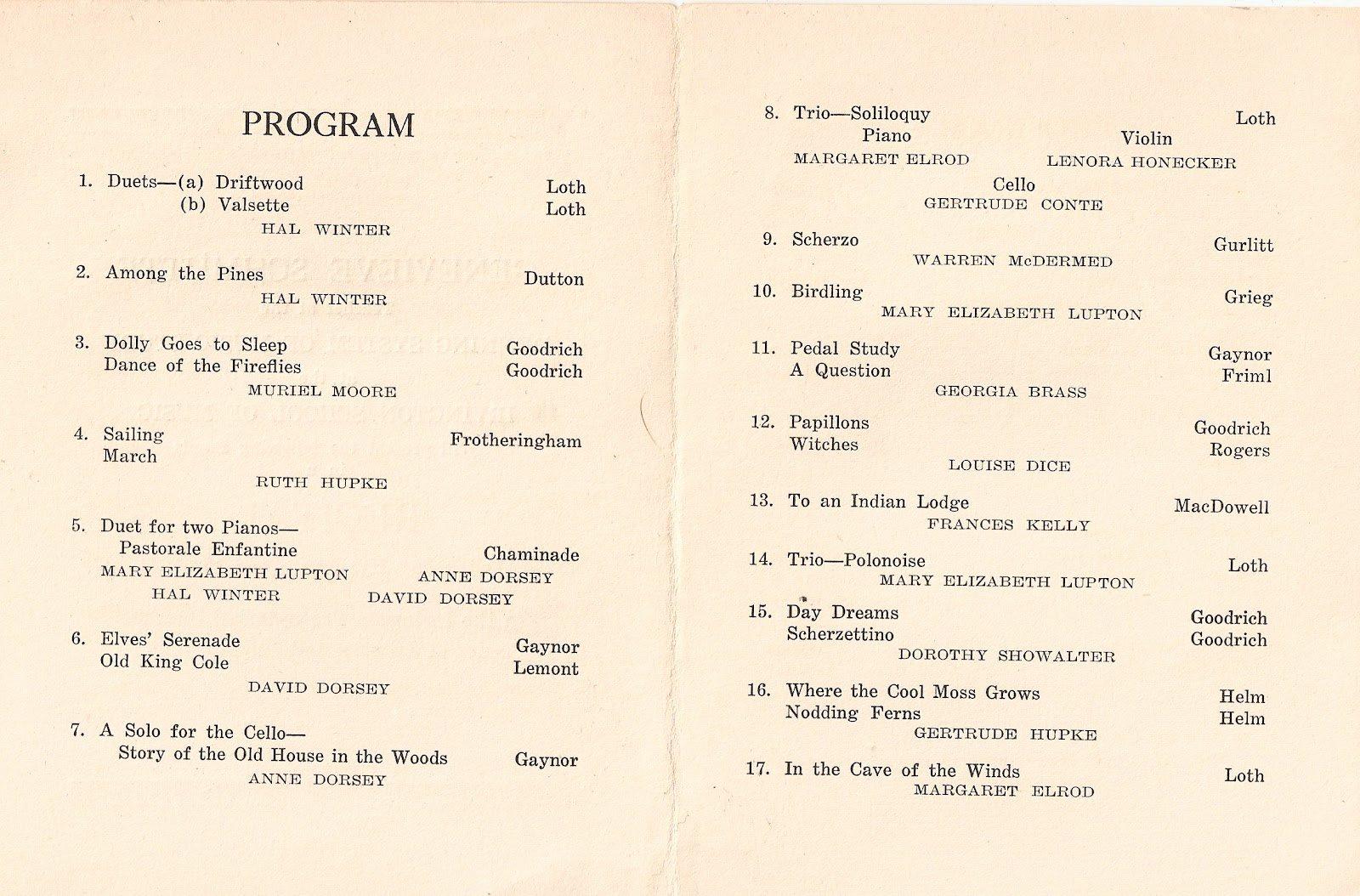 Musical Program Templates Elegant Music Recital Program Templates Free Colesecolossus