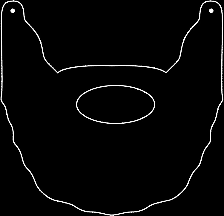 Mustache Cut Out Templates Best Of Another One for Kelsey Fear the Beard Printable Beard I