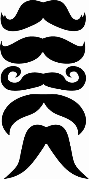 Mustache Pattern Printable Awesome Sweetlovelifes Prop for Booth