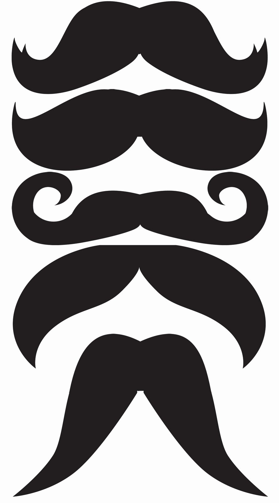 Mustache Pattern Printable Beautiful Oh Boy Mustaches & Bow Ties