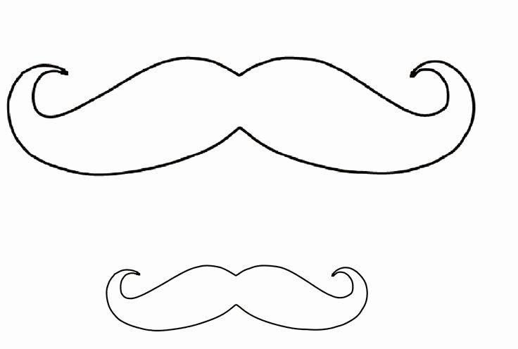 Mustache Pattern Printable Best Of Best 25 Mustache Template Ideas On Pinterest