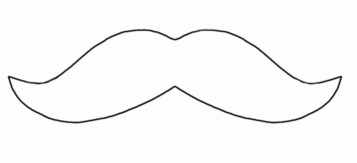 Mustache Pattern Printable Lovely Free Mustache Outline Download Free Clip Art Free Clip