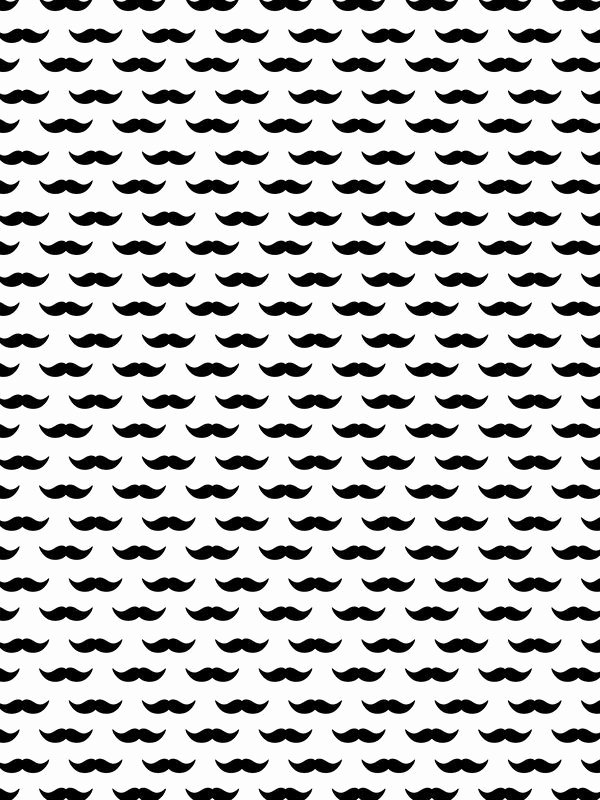 Mustache Pattern Printable Lovely Mustache Pattern Urbanarts Printable Paper