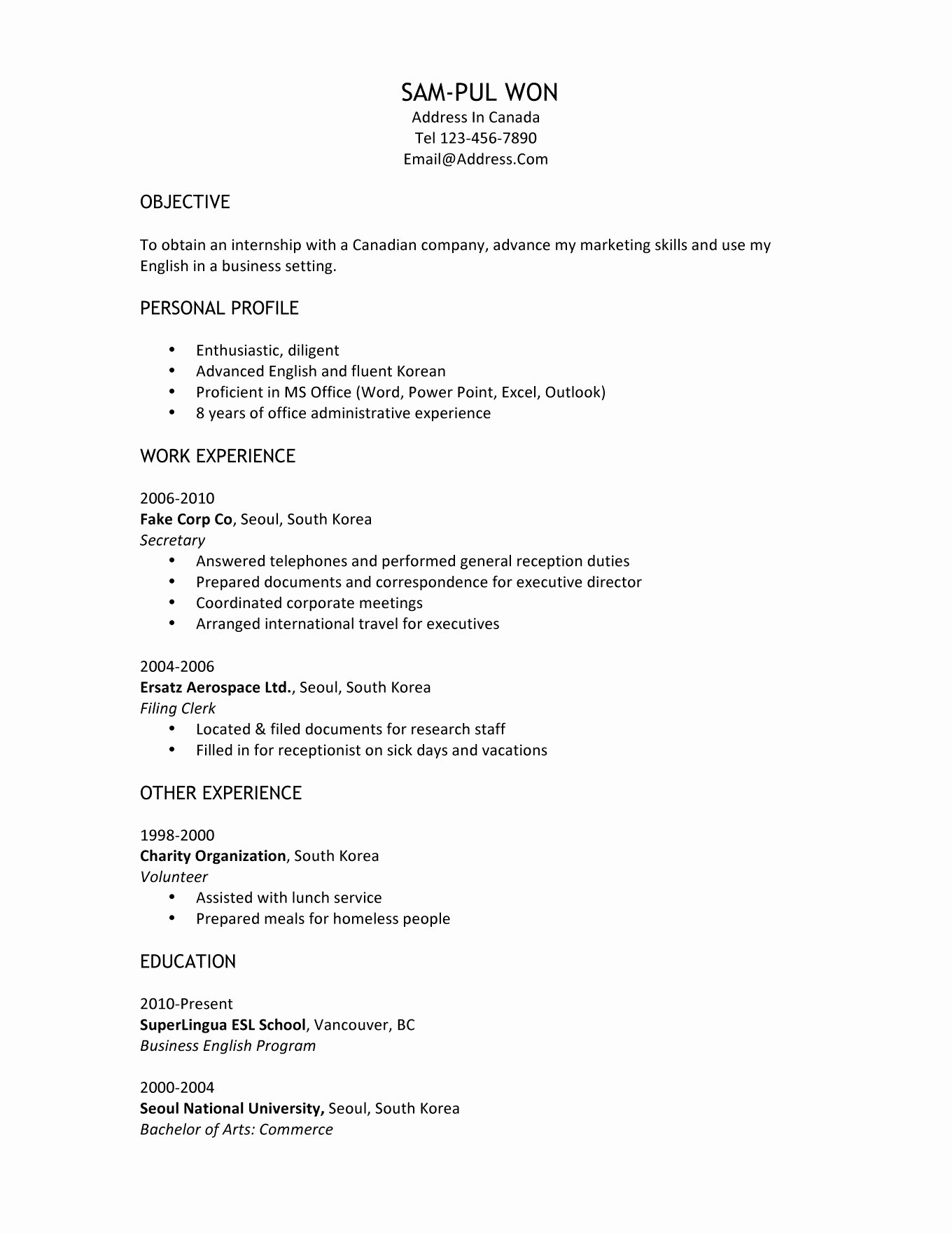 My First Job Experience Essay Fresh High School Resume Examples and Writing Tips