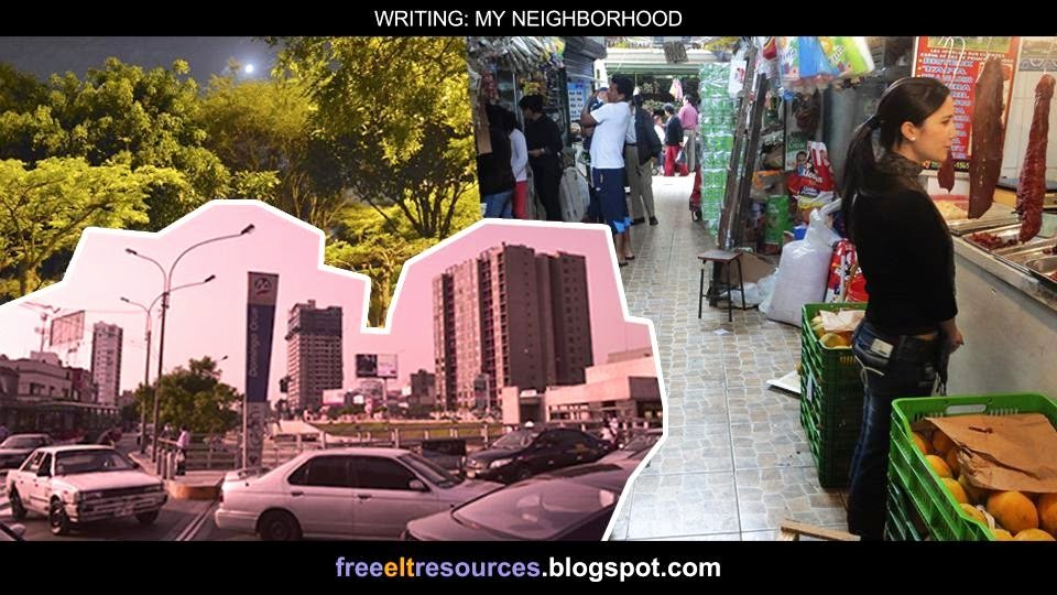 My Neighborhood Essay Example Beautiful Free Elt Resources Writing My Neighborhood