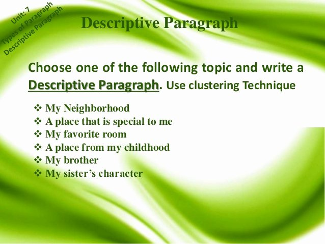 My Neighborhood Essay Example New Update English Paragraph Writing