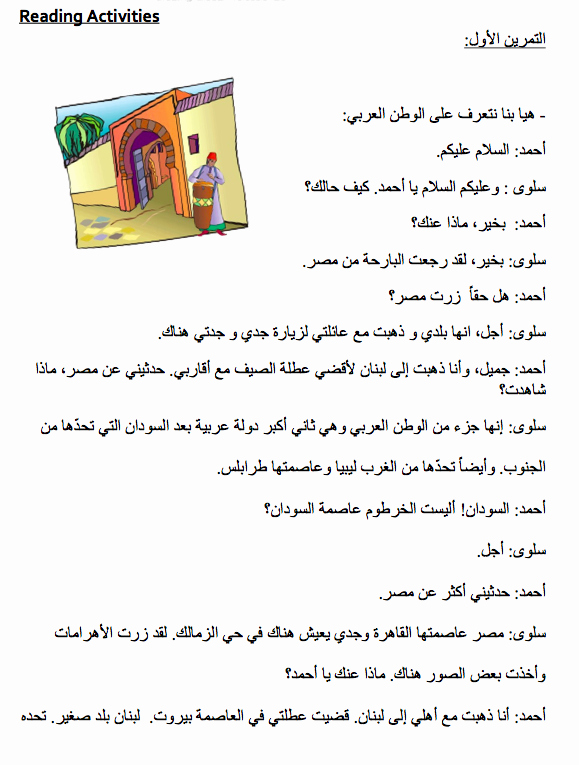 My Summer Vacation Paragraph Beautiful How I Spent My Summer Vacation Paragraph In Arabic
