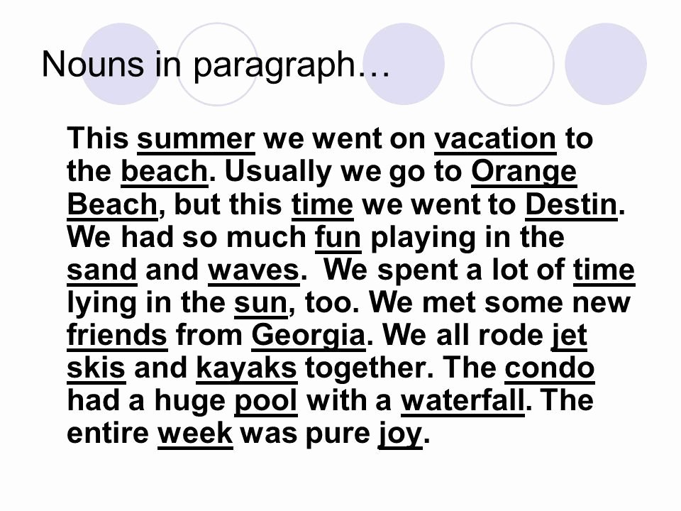 My Summer Vacation Paragraph Lovely My Summer Vacation Paragraph