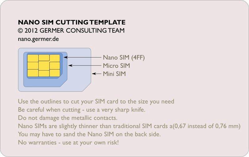 Nano Sim to Micro Sim Template Best Of Een Sim Kaart Knippen Naar Microsim Of Nanosim Voor De