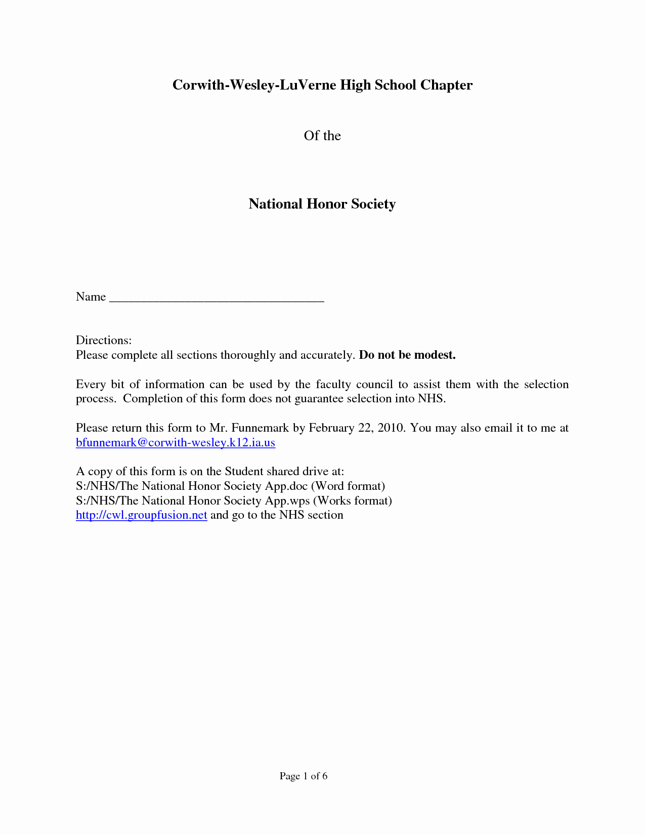 National Honor society Resume Beautiful Sample Re Mendation Letter for National Honor society
