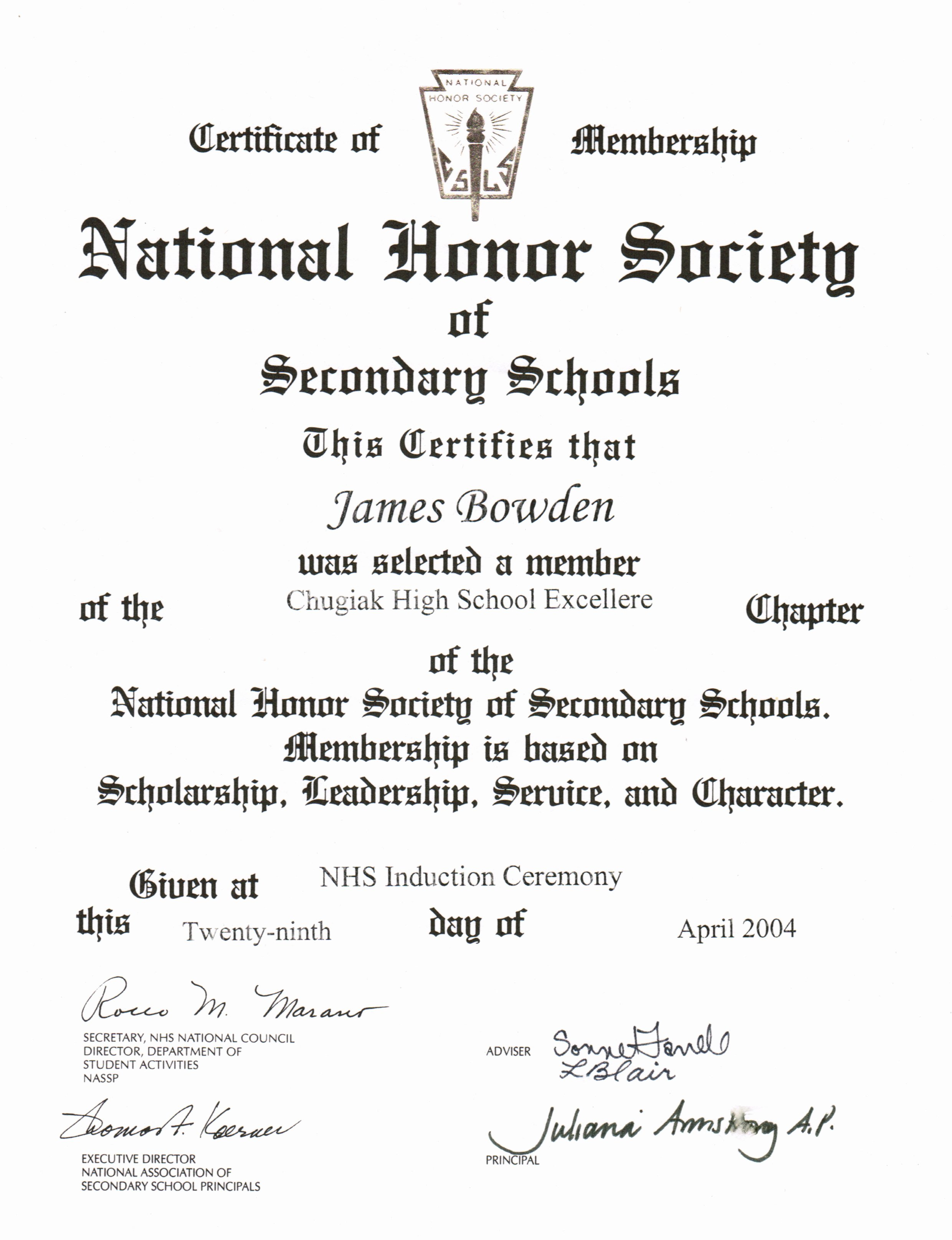 National Honor society Resume New National Junior Honor society Essays Charming Njhs Essay