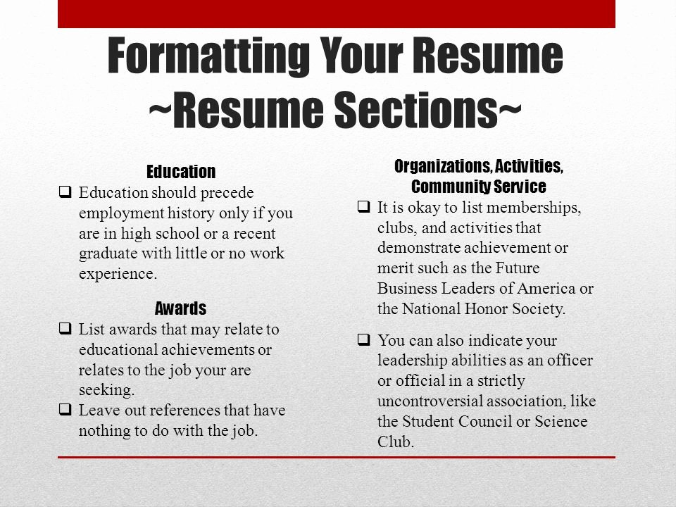 National Honor society Resume Unique Basic Resume Writing Ppt Video Online