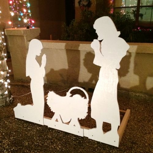 Nativity Scene Silhouette Pattern Beautiful You Can Make Your Own Nativity Scene A Tutorial and