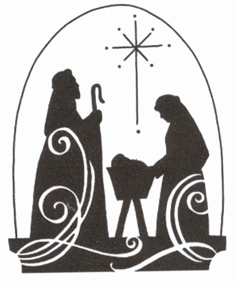 Nativity Scene Silhouette Pattern Best Of Christmas Jesus Nativity Scene Cross Stitch Pattern