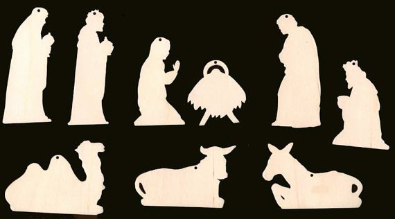 Nativity Scene Silhouette Pattern Free Best Of Best S Of Outdoor Nativity Template Outdoor Wood