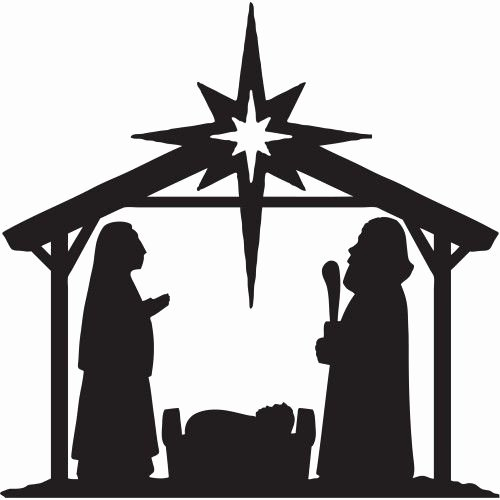 Nativity Scene Silhouette Pattern Luxury Nativity Silhouette Patterns