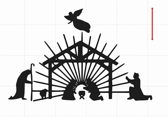 Nativity Scene Silhouette Pattern Unique Nativity Silhouette Patterns