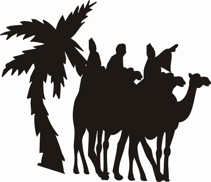 Nativity Silhouette Pattern Fresh 36 Best Christmas Stencils Images On Pinterest