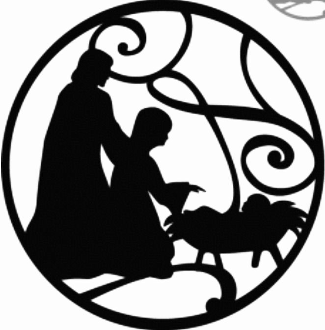 Nativity Silhouette Pattern Inspirational 74 Best Nativity Images On Pinterest