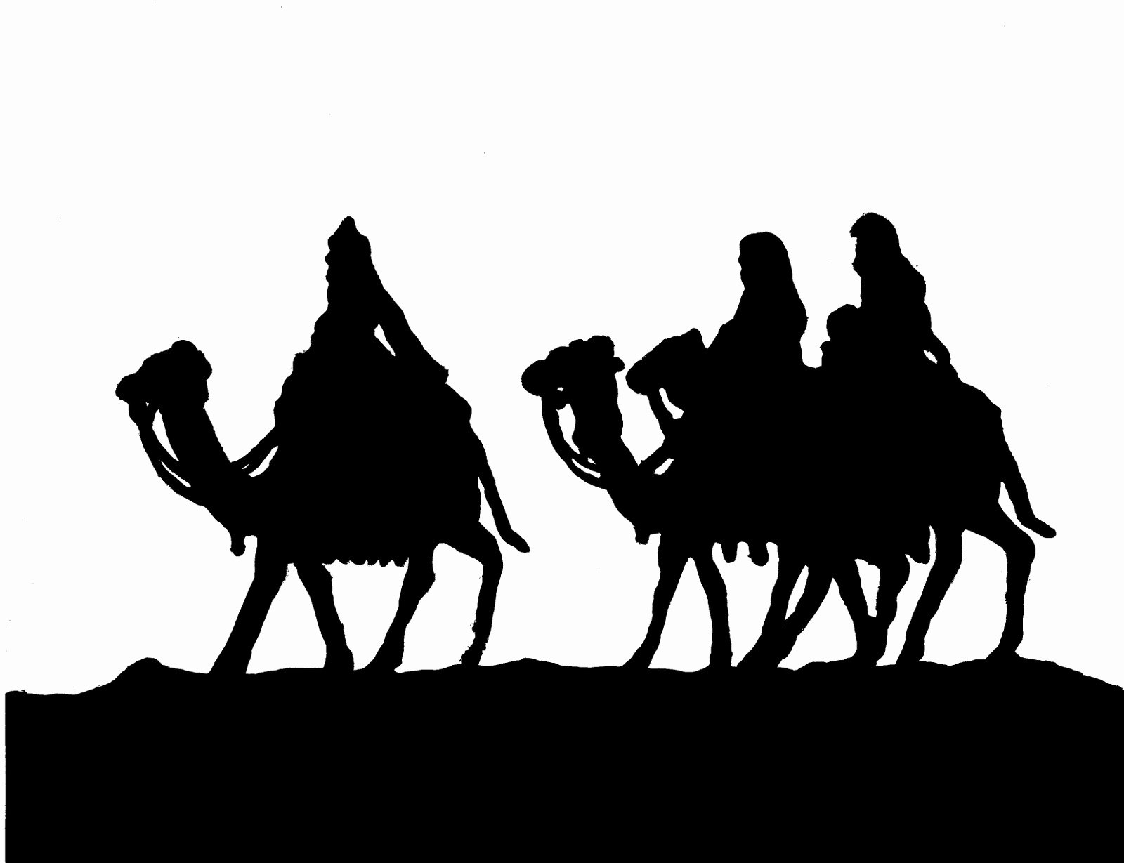 Nativity Silhouette Pattern Luxury You Seriously Made that now You too Can Trace Your