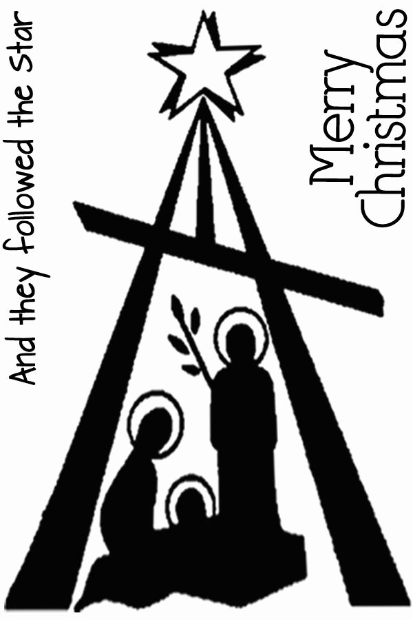 Nativity Silhouette Pattern Unique Nativity Modern Silhouette Nativities