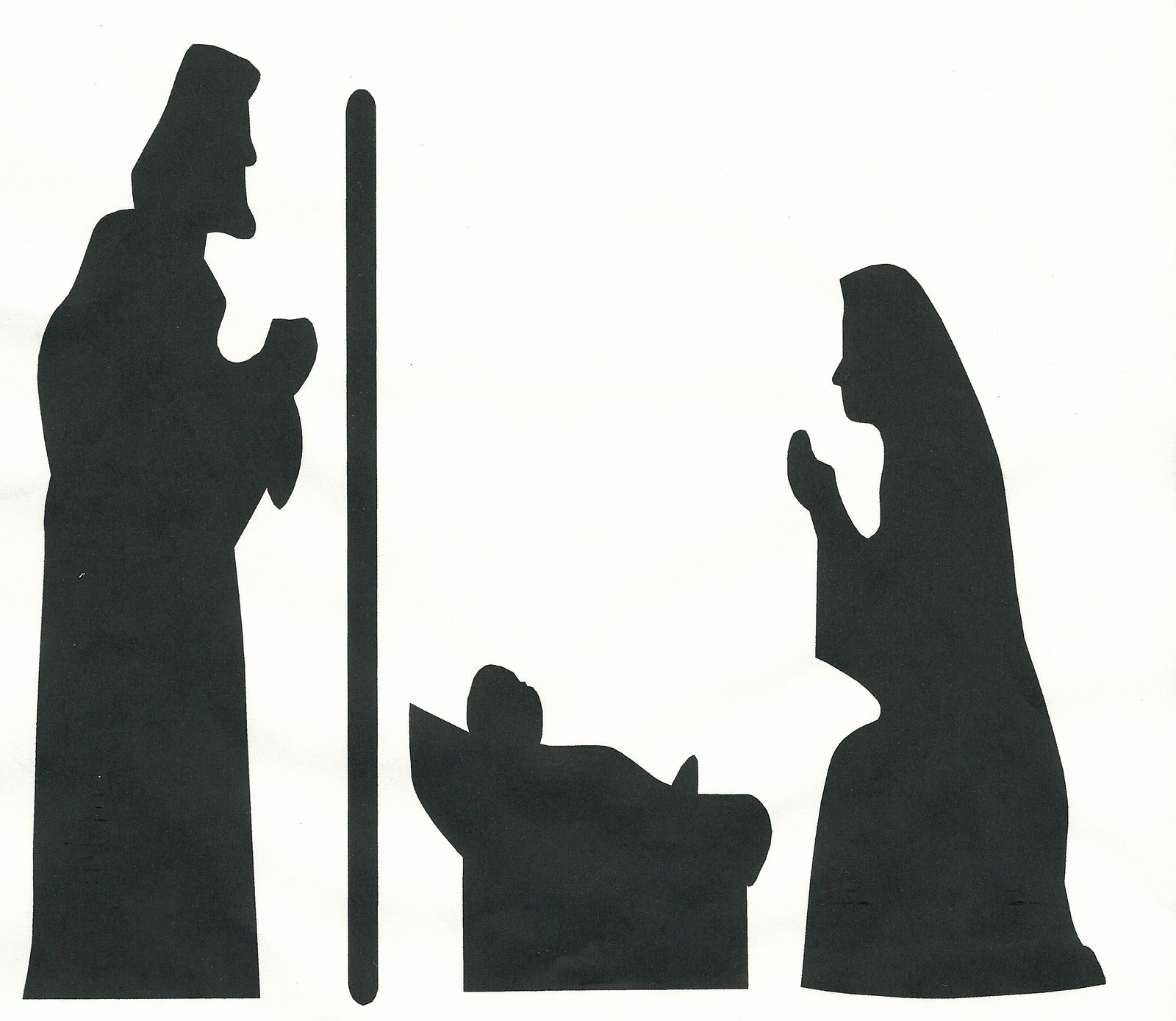 Nativity Silhouette Patterns Awesome Whitehall Ward R S News November 2010