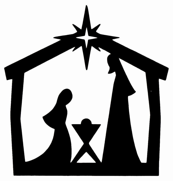 Nativity Silhouette Patterns Download Best Of Cheerleader Silhouette Clip Art Cliparts