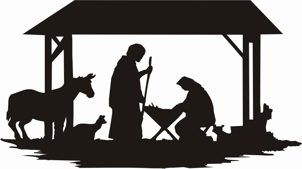 Nativity Silhouette Patterns Download Best Of Nativity Silhouette Large N405 Woodworking Christmas Yard