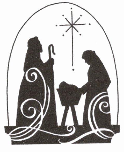Nativity Silhouette Patterns Download Inspirational Christmas Jesus Nativity Scene Cross Stitch Pattern
