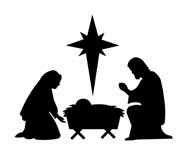 Nativity Silhouette Patterns Inspirational Free Silhoutte Nativity Scene Patterns