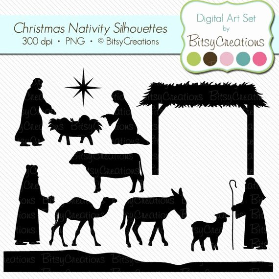 Nativity Silhouette Patterns Lovely Unavailable Listing On Etsy