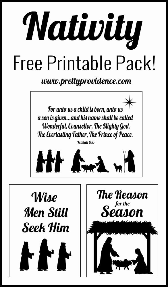 Nativity Silhouette Printable Inspirational 1000 Ideas About Nativity ornaments On Pinterest