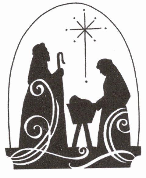Nativity Silhouette Printable New Christmas Jesus Nativity Scene Cross Stitch Pattern