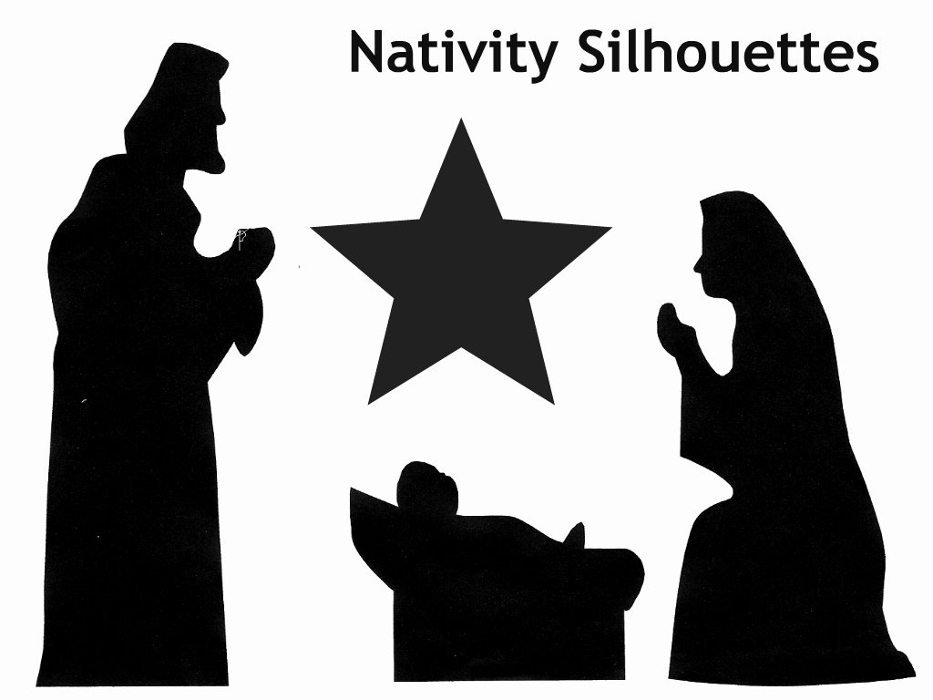 Nativity Silhouette Printable Unique Family Advent Calendar Day 12 Make A Shadow Puppet